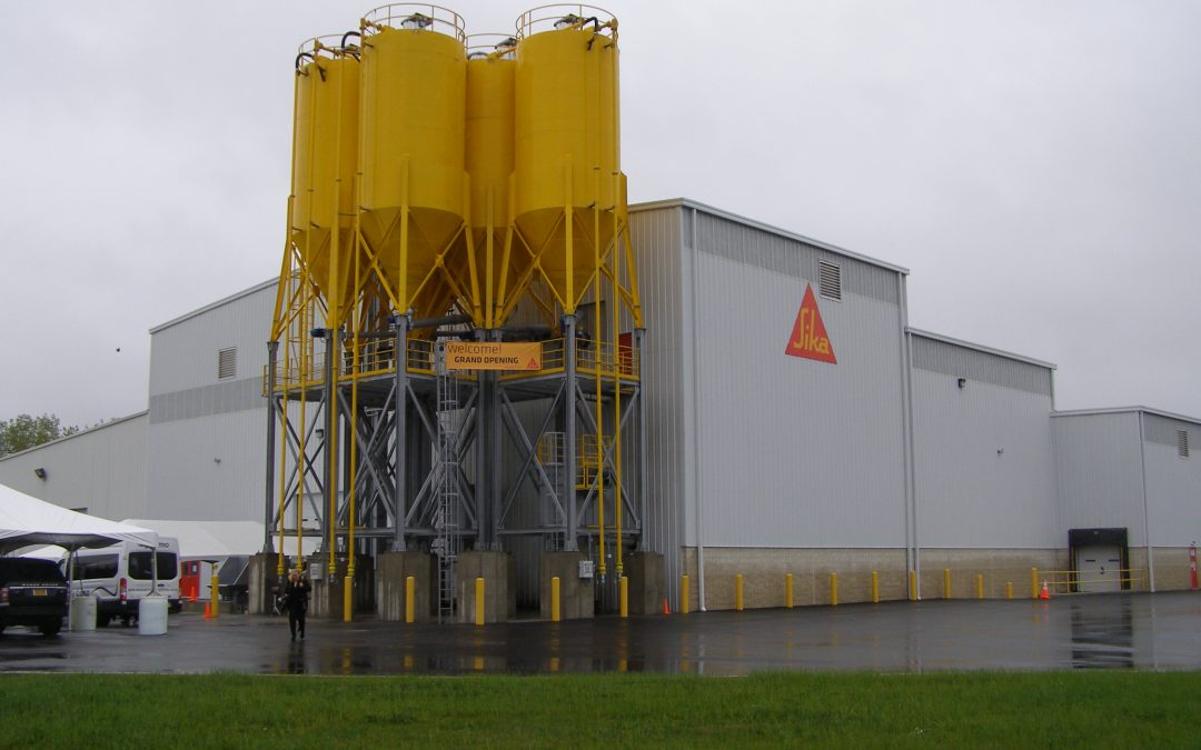 Sika USX Mortar Mix Plant, Fairless Hill, PA